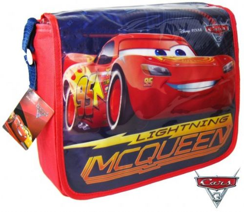 "Official Disney Cars 3 ""Lighting McQueen"" Messenger Shoulder Bag ""Perfect For School"
